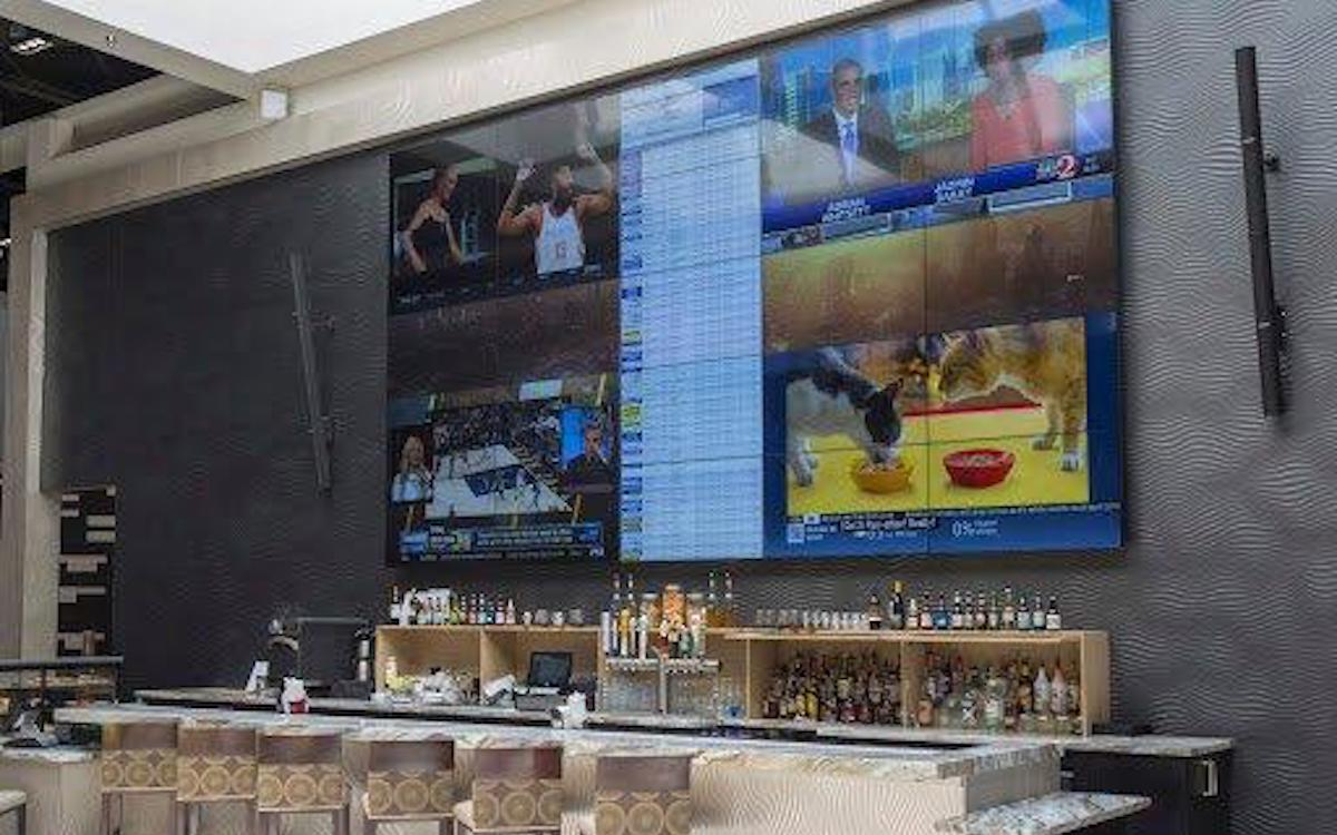 Verschiedene Feeds werden für die große Videowand genutzt (Foto: Userful)