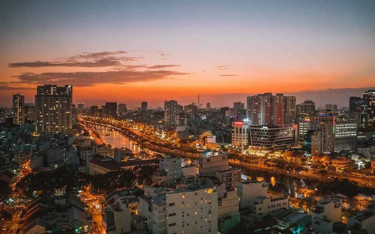 Vietnam – hier Ho-Chi-Minh-Stadt – die größte Stadt des Landes ist Hauptzielmarkt der neuen Kooperation (Foto: Samsung SDS)