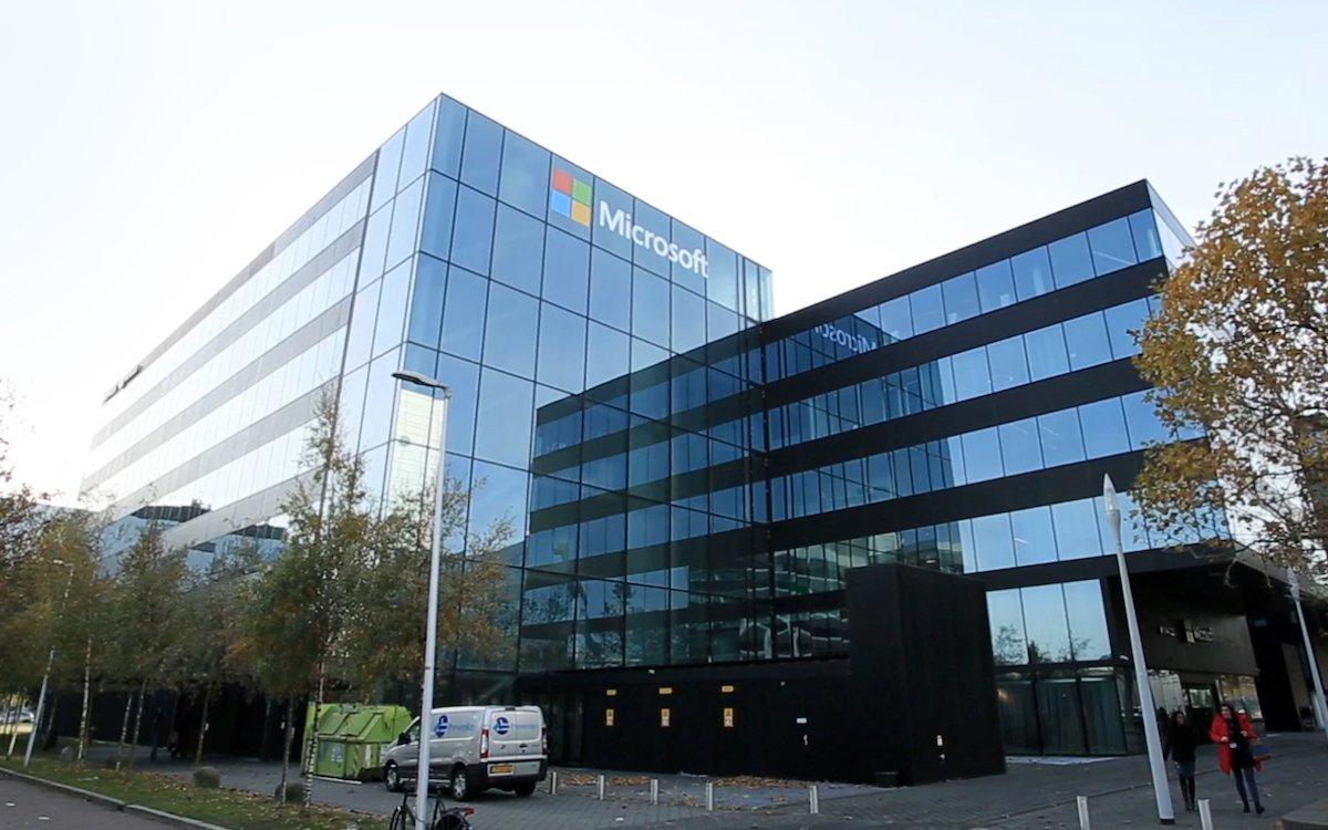 Zentrale von Microsoft in Amsterdam-Schiphol (Foto: Samsung)
