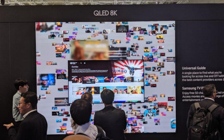 Samsung 8k Screen trifft auf LED (Foto: invidis)