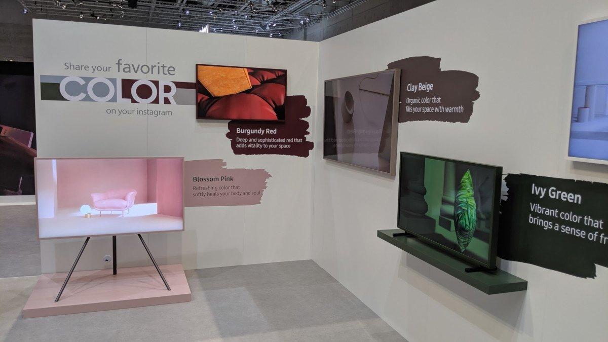 Viel Farbe - nicht nur bei Consumer TVs sondern auch bei Weißer Ware (Foto: invidis)