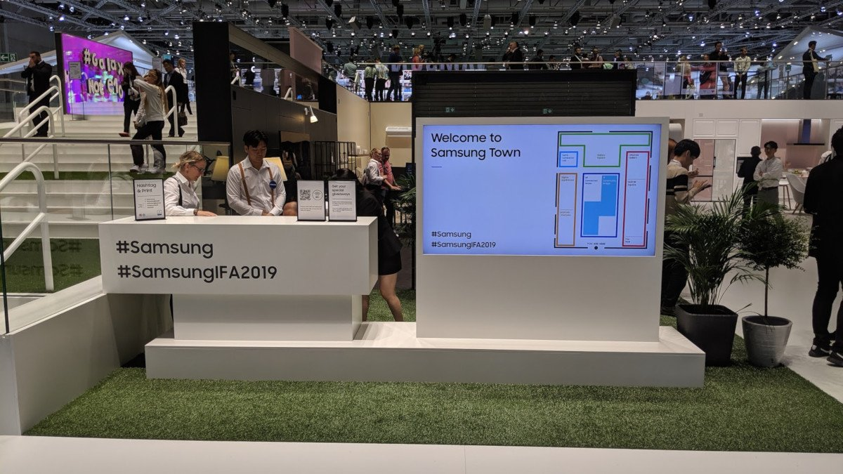 Samsung Town auf der IFA 2019 (Foto: invidis)