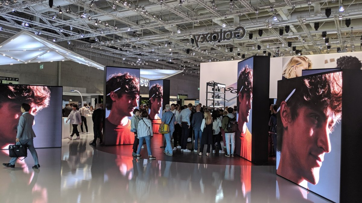 LED dominierte Samsungs IFA Stand 2019 (Foto: invidis)