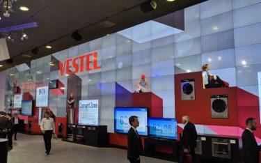 Vestel Digital Signage auf der IFA (Foto: invidis)