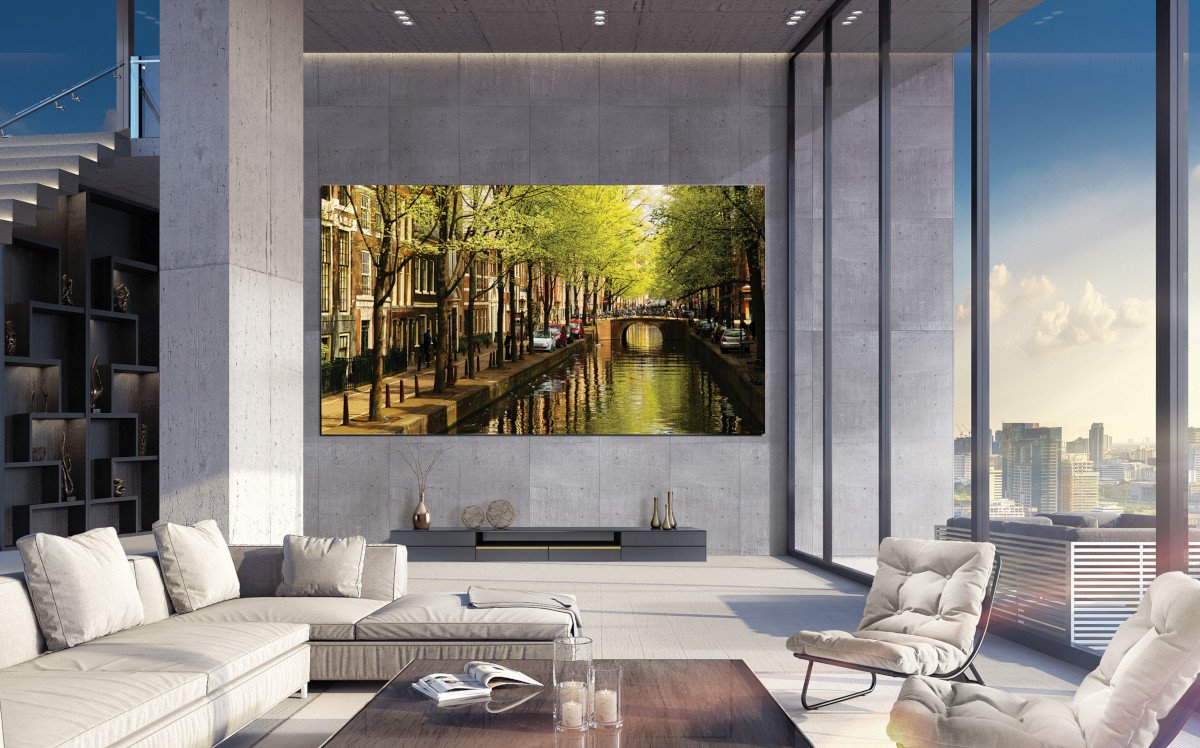 Mehr Luxus geht fast nicht - Samsung MicroLED The Wall Luxury (Foto: Samsung)