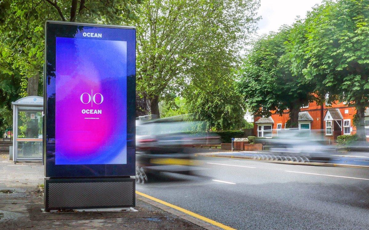 120+ Digitale CLP in Birmingham (Foto: Ocean Outdoor)