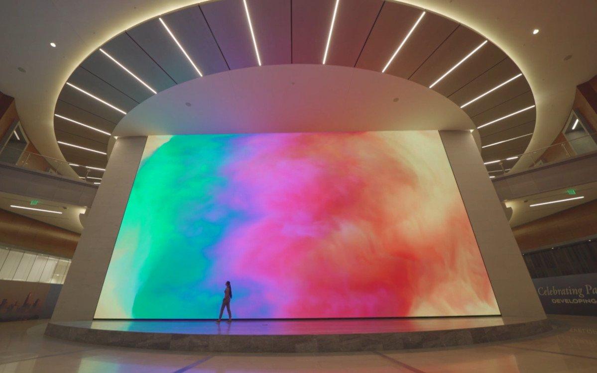 Weltgrößte 4k LED - Unify in Charlotte (Foto: Screenshot)