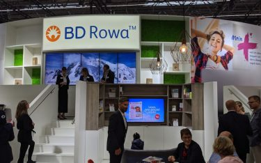 Digital Signage in Apotheken - hier bei BD Rowa (Foto: invidis)