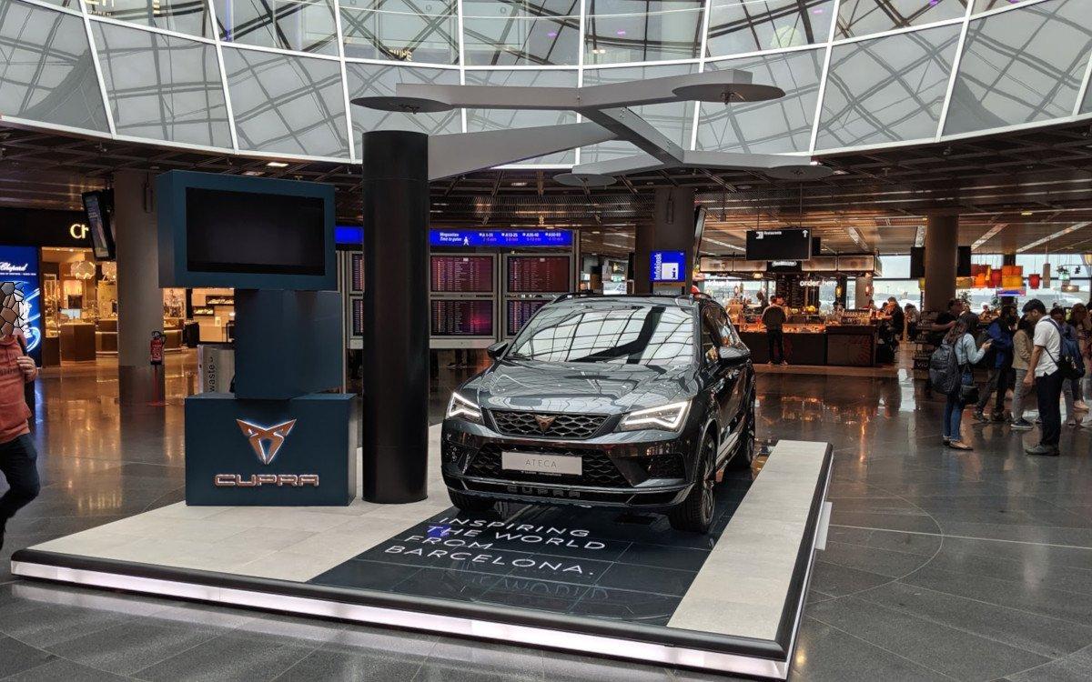 Cupra Showcase am Flughafen Frankfurt (Foto: invidis)