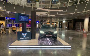 Cupra Showcase am Flughafen Frankfurt (Foto: KL Digital)