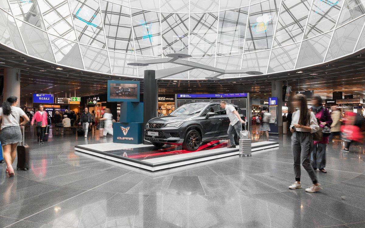 Cupra Showcase im Flughafen Frankfurt (Foto: invidis)