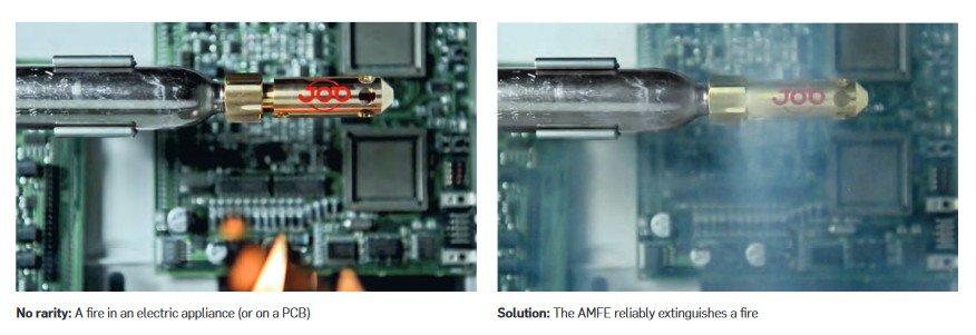 Job AMFE Brandschutzlösung für Digital Signage (Foto: Job Group)