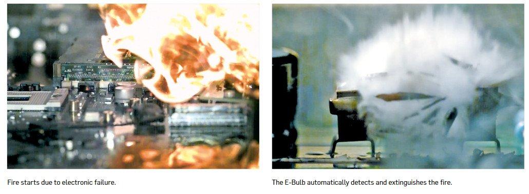 Job E-Bulb Brandschutzlösung für Digital Signage (Foto: Job Group)