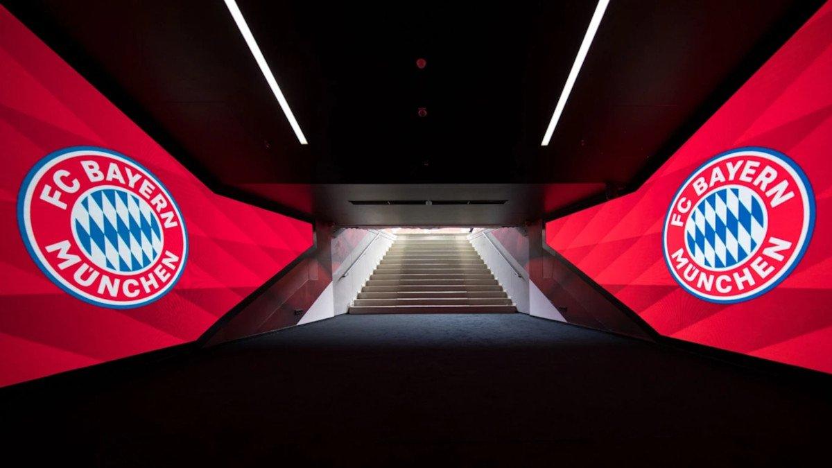 Neuer LED-Spielertunnel des FC Bayern in der Allianz-Arena (Foto: FC bayern)