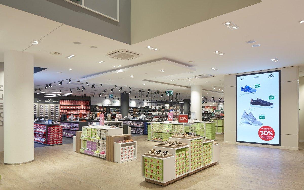 Deichmann Flagship-Store in München (Foto: Magnus Pettersson/Deichmann)