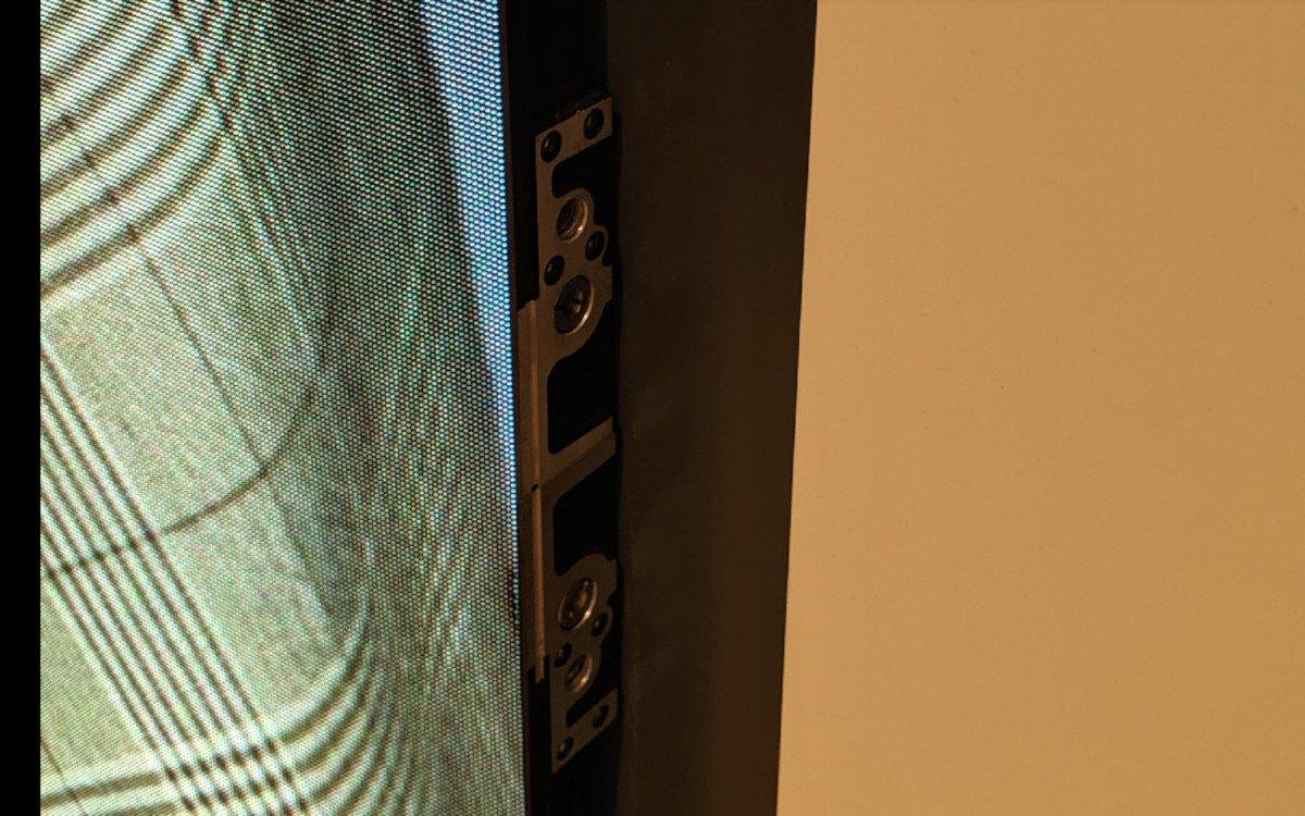 LED ungeschützt ohen Rammschutz leidet nach einigen Wochen schon (Foto: invidis)