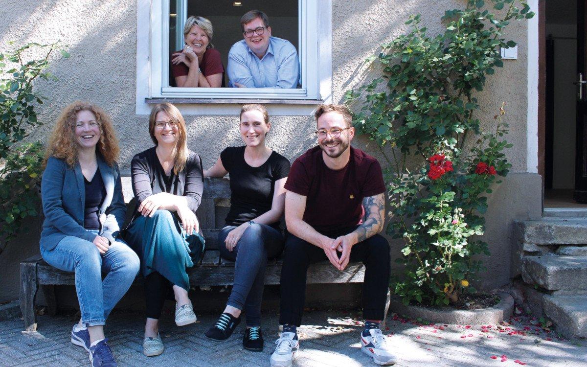 TV-Wartezimmer Kreativteam am neuen Standort in der Innenstadt von München (Foto: TV-Wartezimmer)