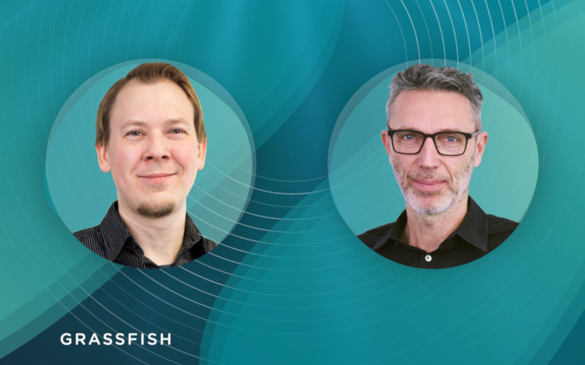 Aufstieg ins Management - Matthias Bayer und Helmut Pfeiler (Foto: Grassfish)