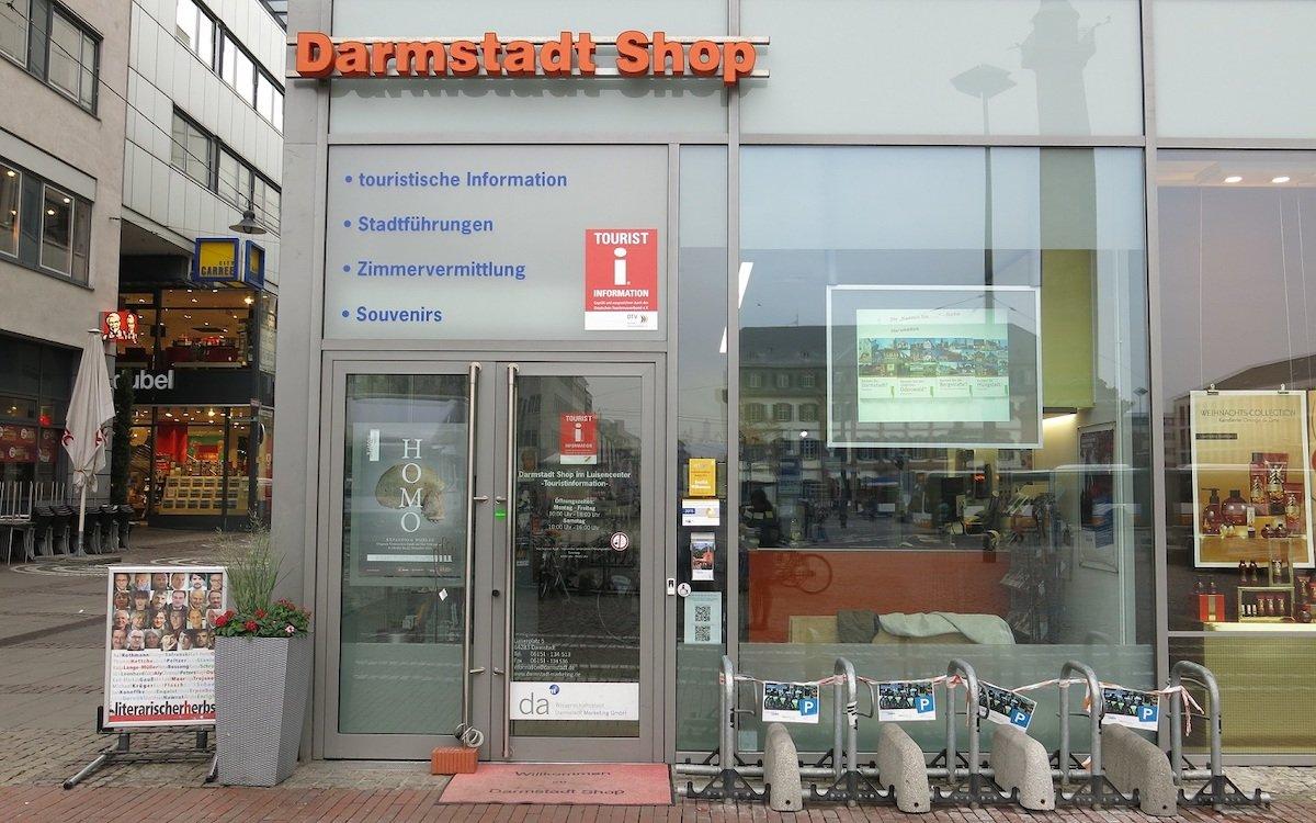 Der Darmstadt Shop vor dem Umbau (Foto: Hessen Tourismus)