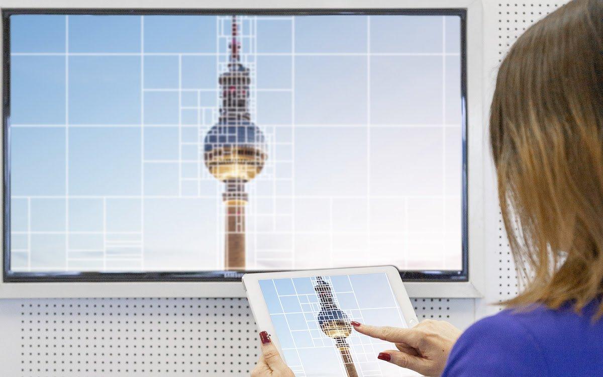 Der neue Codec wird eine Datenraten Ersparnis von bis zu 50% gegenüber HEVC/H.265 bringen (Foto: Fraunhofer HHI)