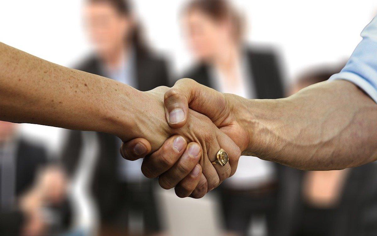Geschäftspartner, Symbolbild (Foto: Pixabay / geralt)