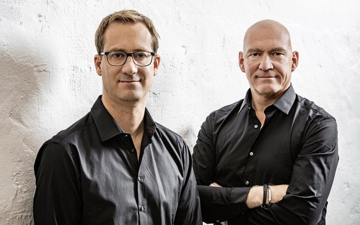 Von links: Thomas Tennagels und der von Amptown gewechselte Co-Geschäftsführer Leif Witte (Foto: tennagels Medientechnik / J. Rolfes)