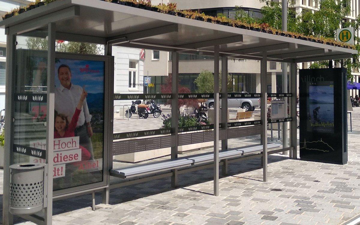 Villach und Epamedia haben ein Go Green-Pilotprojekt gestartet (Foto: Epamedia)