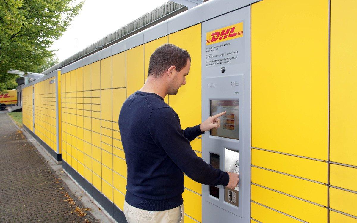 Bals 7.000 Paketstationen in Deutschland (Foto: Deutsche Post SHL)
