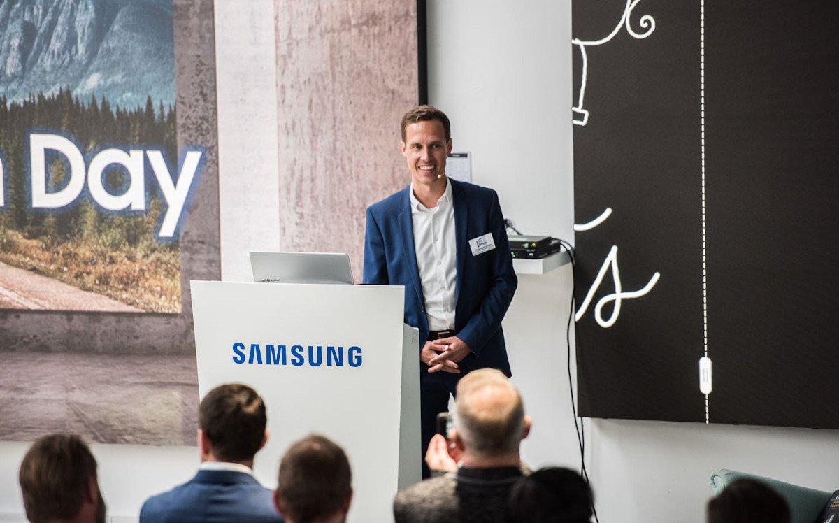 Christoph Emde, Product Manager Smart Signage (Foto: Samsung)