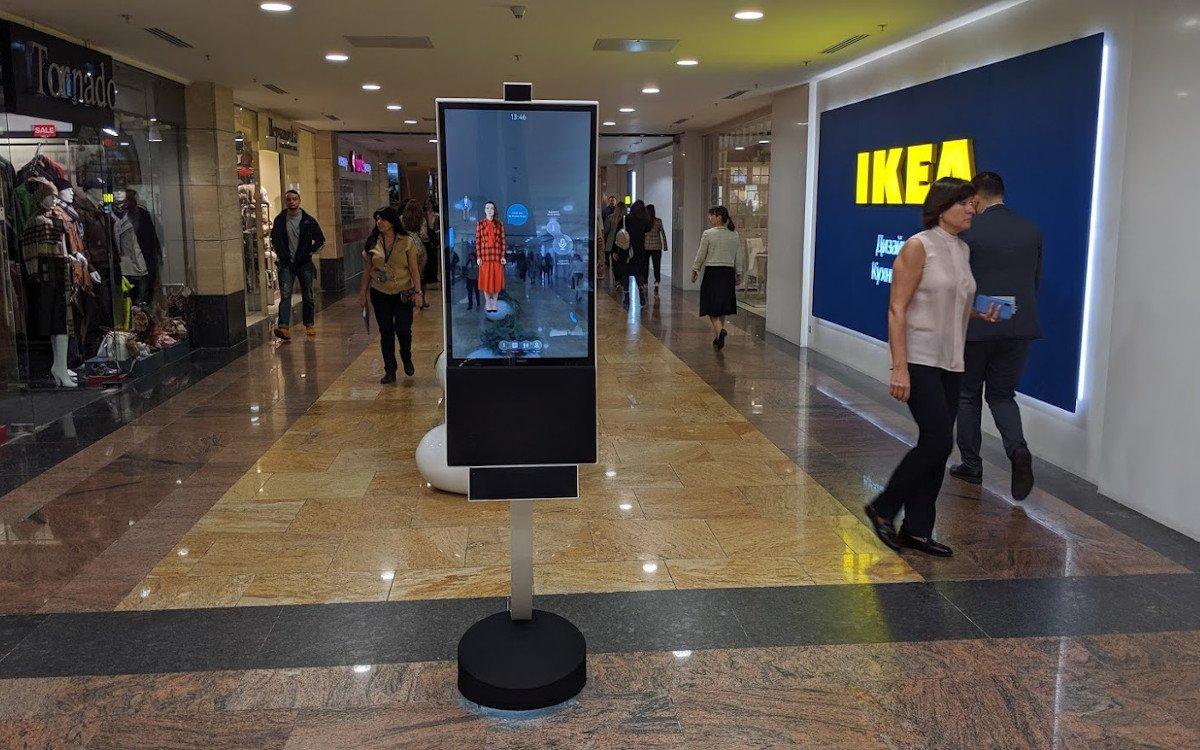 AI-powered Wayguiding von Neuro City in Moskau (Foto: invidis)