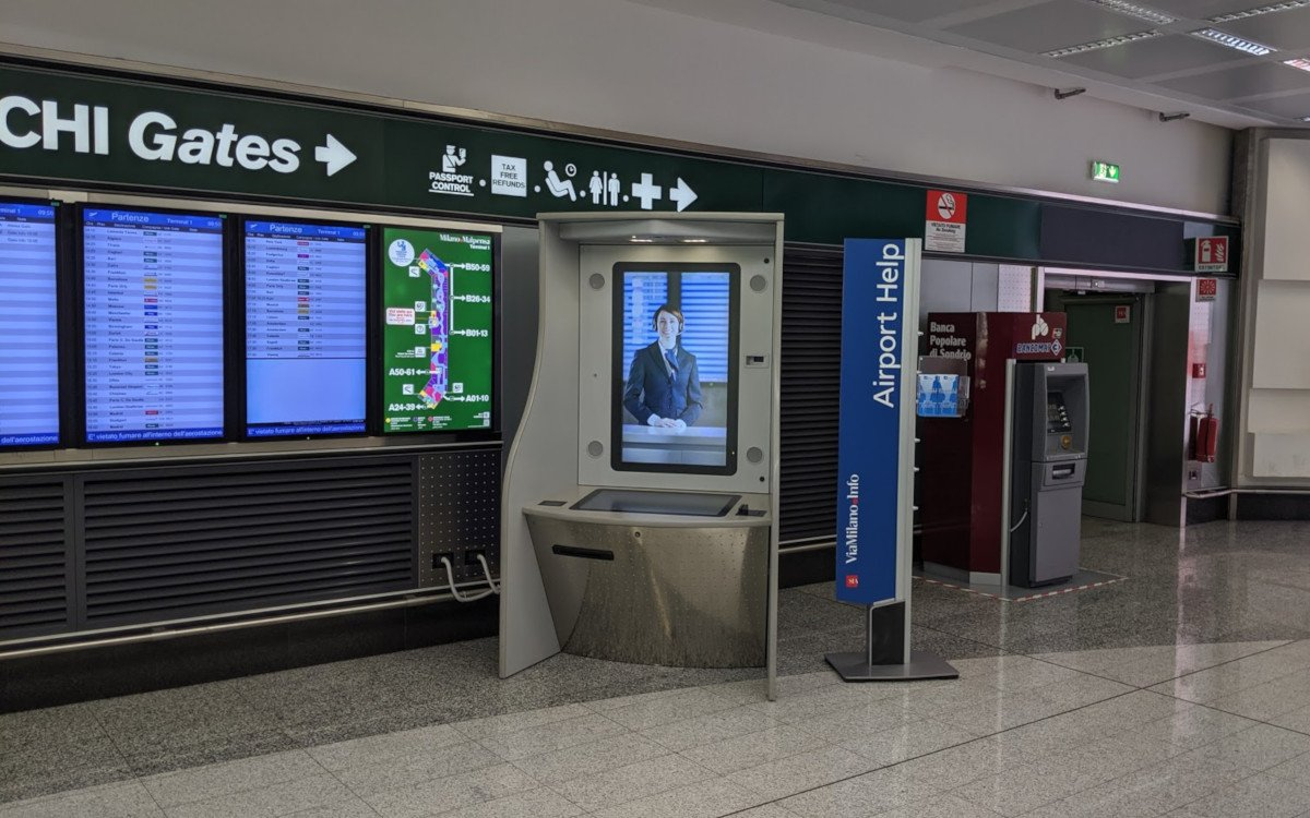 Mailand Airport Help (Foto: invidis)