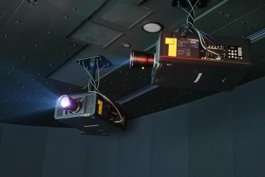 4K Projektoren im Theatre des Japan Olympic Museum (Foto: Panasonic)