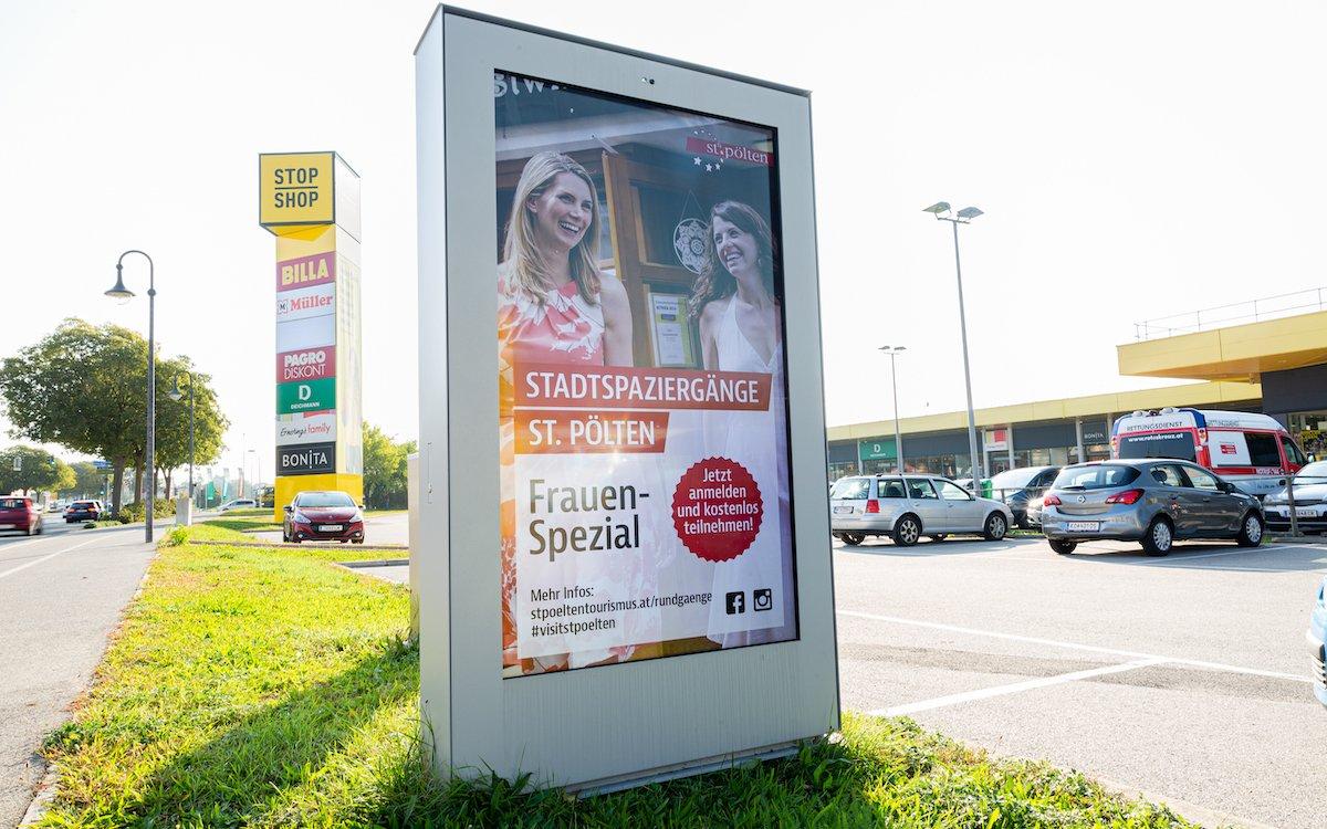 Digilight Screen in Stockerau (Foto: Digilight)