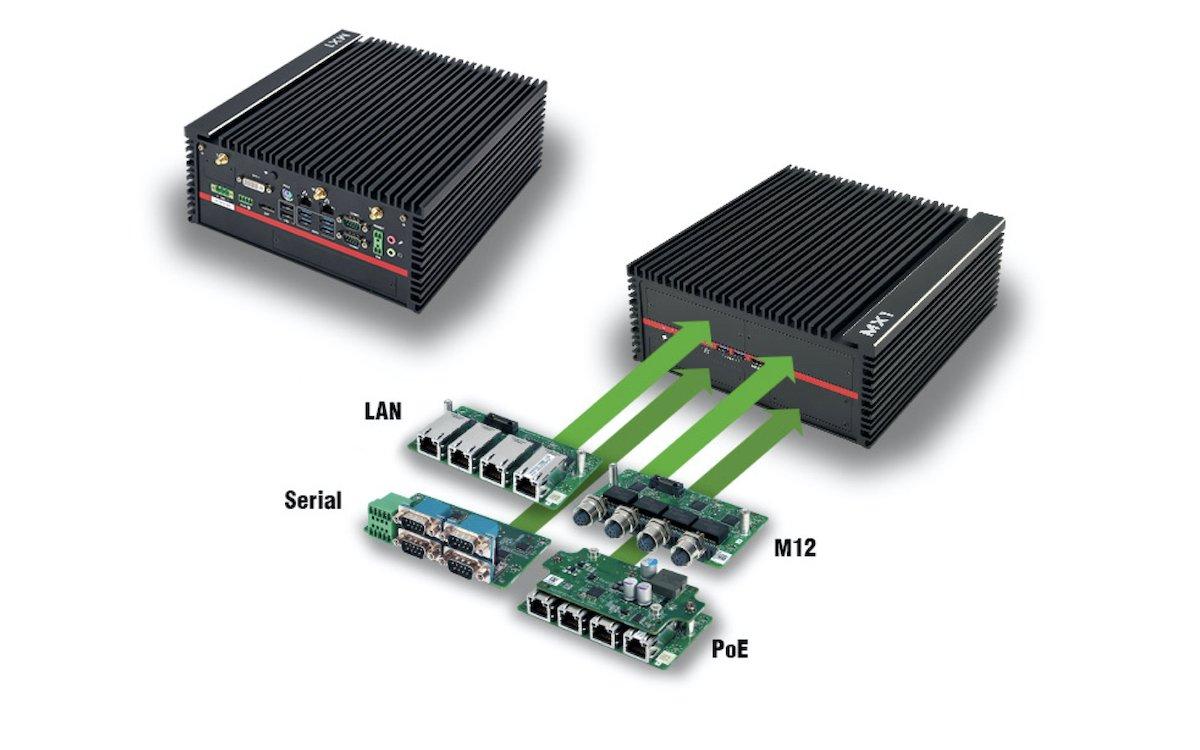 Fanless Embedded PC MX1-10FEP (Foto: ICP Deutschland)