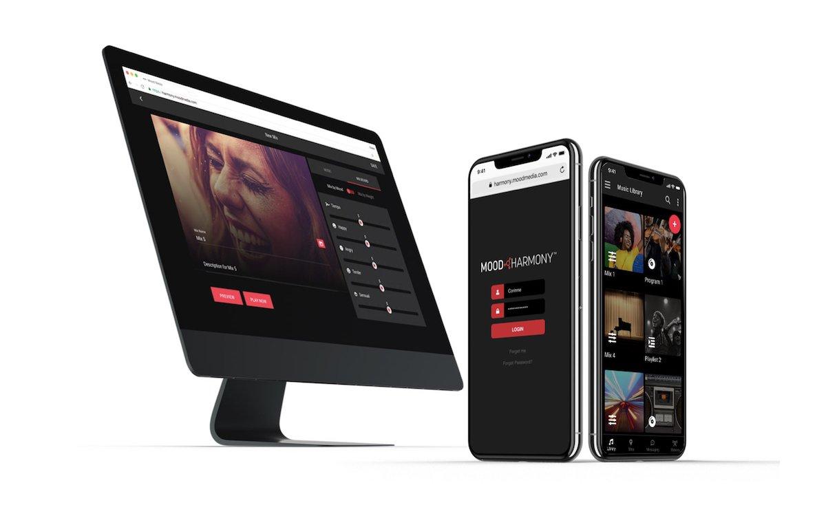 """""""Harmony"""" ist eine neue Plattform für den Marketing-Einsatz am PoS (Foto: Mood Media)"""