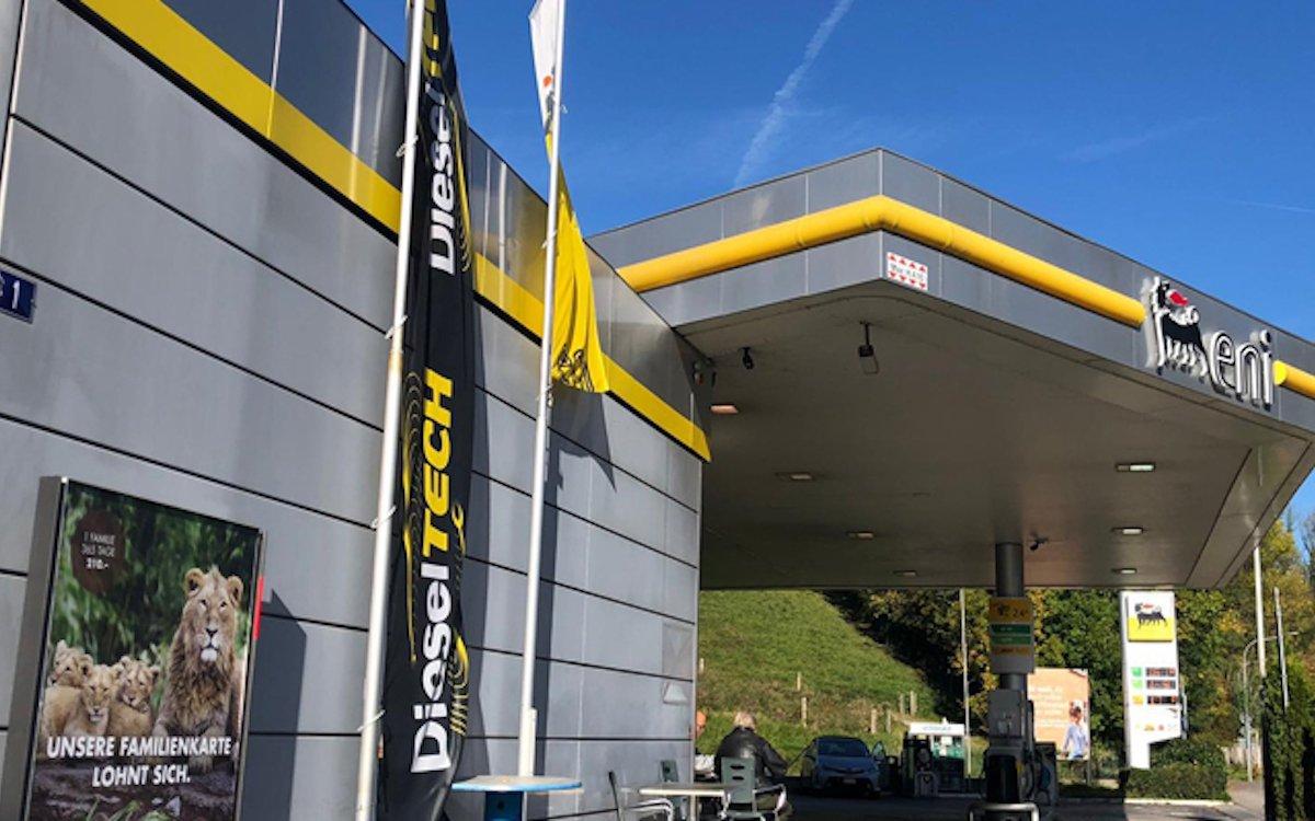 In der Schweiz werden Werbeflächen bei ENI weiterhin von der APG SGA vermarktet (Foto: APG SGA)