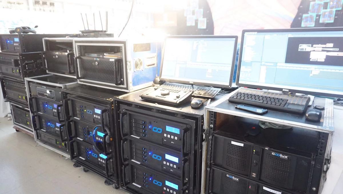 Pandoras Box gehörte zu den eingesetzten AV-Lösungen (Foto: Christie)