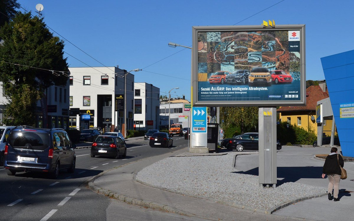 Posterlight mit einem Motiv der aktuellen Kampagne (Foto: Epamedia)
