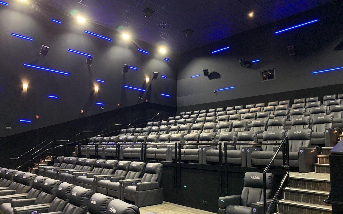 "Saal im Landmark-Kinokomplex im ""Aurora""-Freizeitpark im kanadischen Regina (Foto: Kinopolis)"