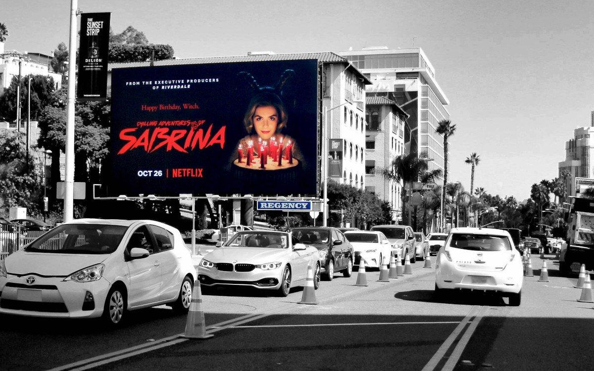 Netflix Kampagne in Los Angeles (Foto: Regency)