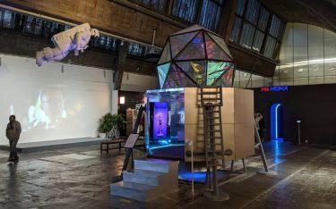 Kunst trifft Digital Signage - We Bank Gallery (Foto: invidis)