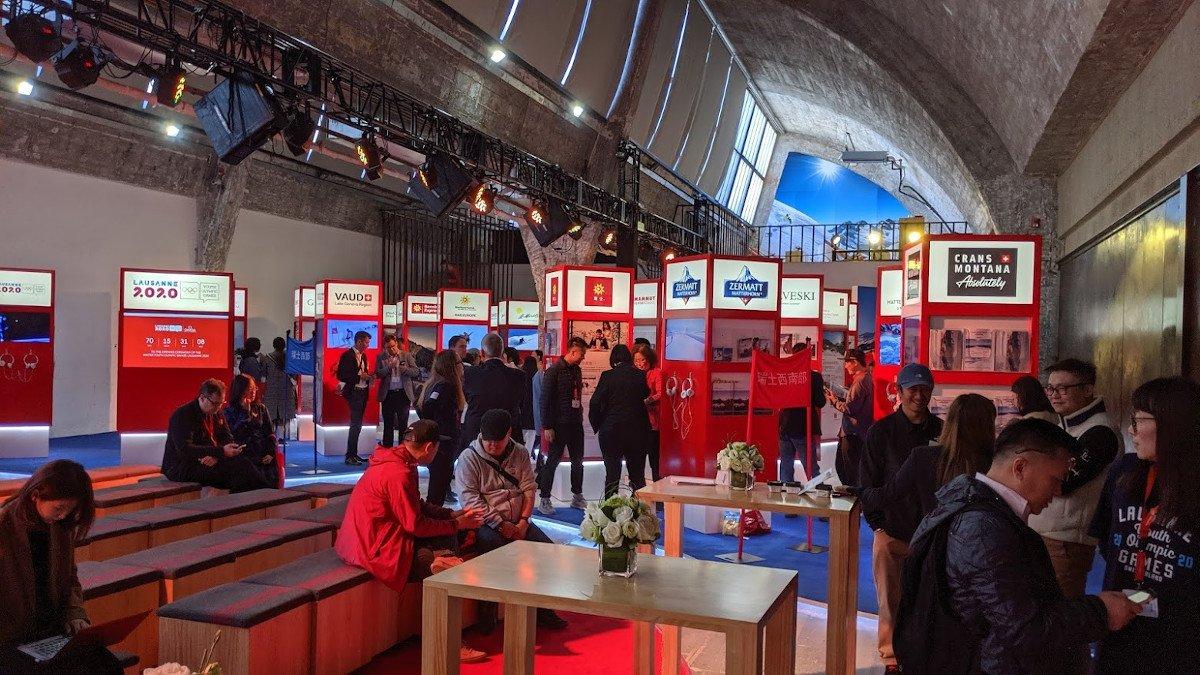 Wintersport Schweiz in Peking (Foto: invidis)