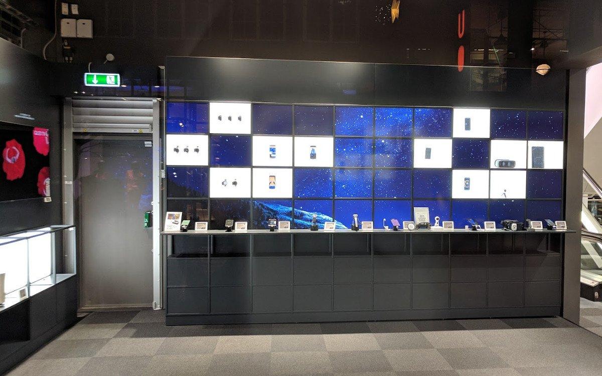 Quadratisch, praktisch, gut - Samsung Store in Kopenhagen (Foto: invidis)