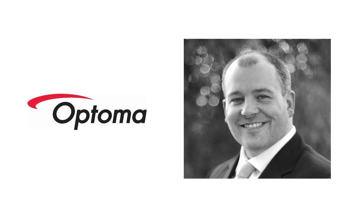 Christian Erb jetzt bei Optoma (Foto: Optoma)