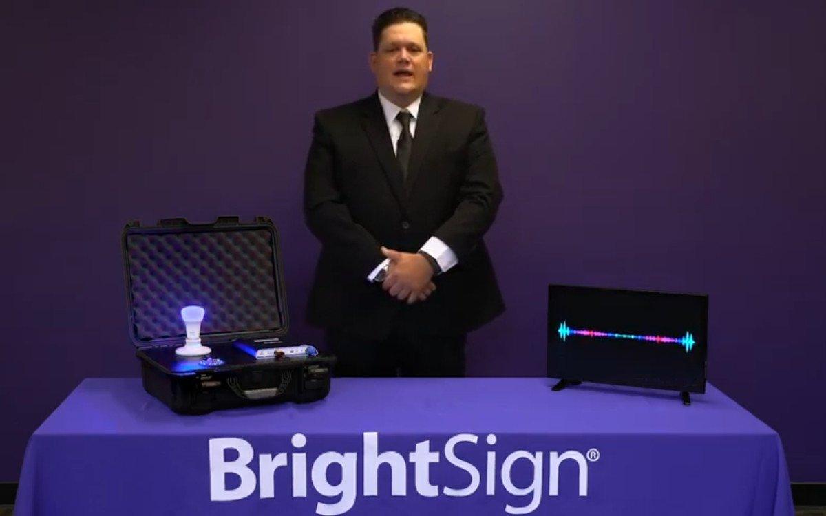 Brightvoice offline Digital Signage Voice Assistant (Foto: Screenshot)