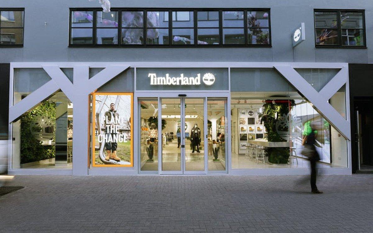 Neuer Timberland-Store in London (Foto: Dalziel & Pow)