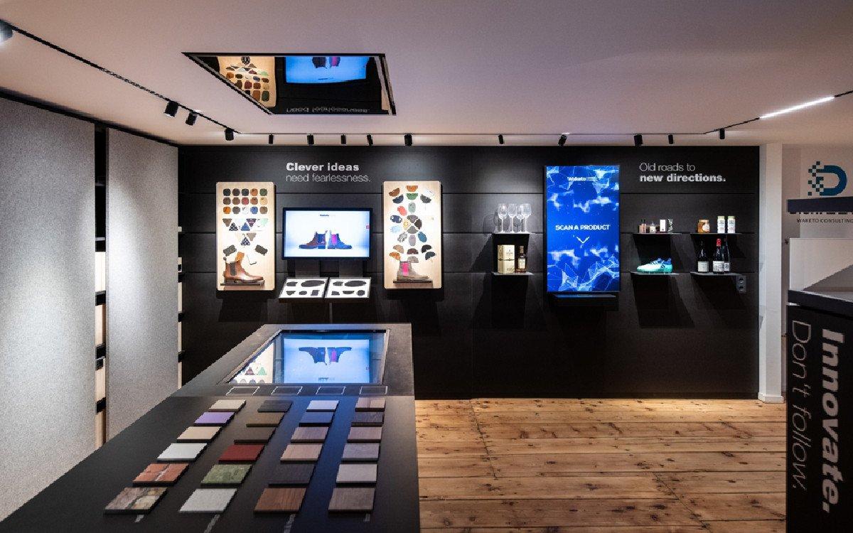 Showroom von Intuiface Integrator Waketo in München (Foto: Waketo)