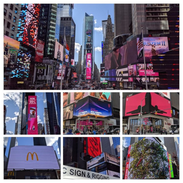 Digital Signage und DooH am Times Square (Fotos: invidis)