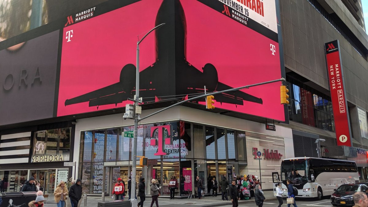 T-Mobile Flagship am Times Square (Foto: invidis)