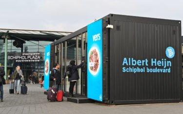 Albert Heijn Digital Store am Flughafen Amsterdam (Foto: Schipol)